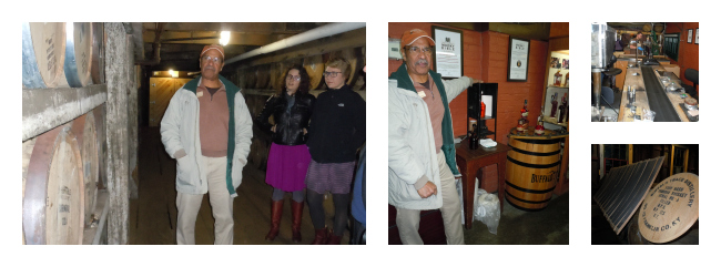 buffalo trace tour Collage