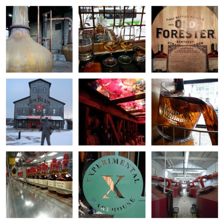 bourbon country collage