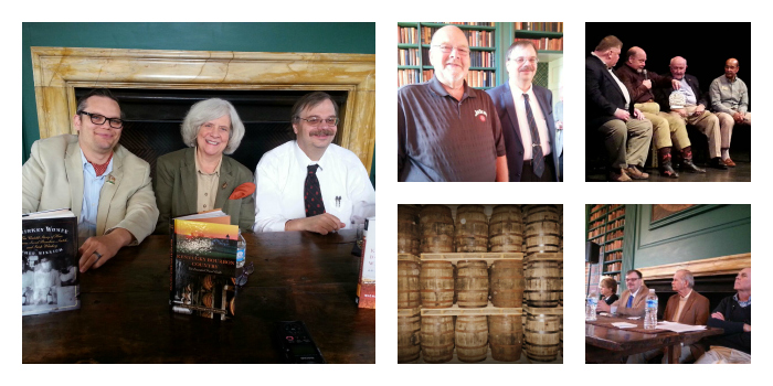 bourbon writers collage